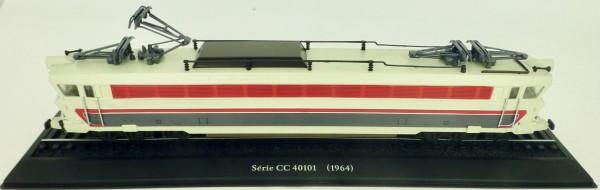 Elektrolok Série CC 40101 1964 H0 1:87 Standmodell auf Sockel Atlas 7153104 LIH µ