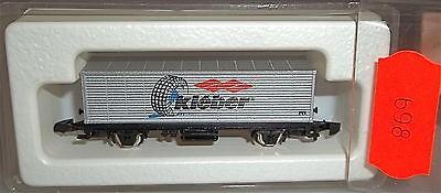 Kleber Containerwagen Märklin 8615 Spur Z Kolls 91716 1:220 698 å