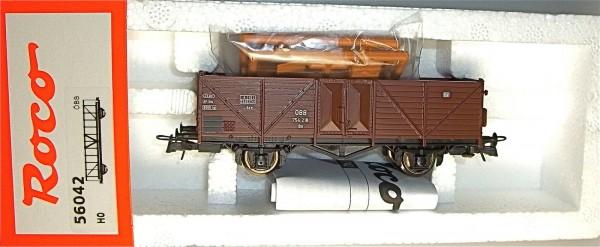0m ÖBB 754 218 Güterwagen mit Ladegut Roco 56042 H0 1/87 OVP NEU #HC2
