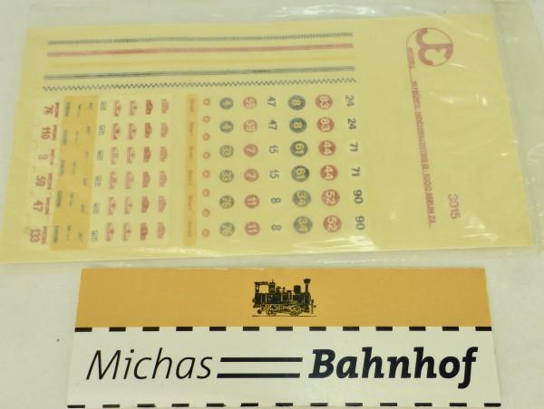 Zielbeschriftungen Beschriftung Bus Fröwis 3015 H0 1:87 å