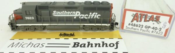 GP-40-2 Southern Pacific 7623 Atlas 48622 Diesellok N 1:160 OVP ∆28 å