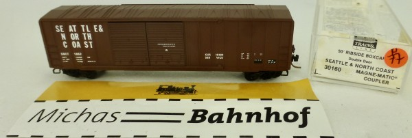 Seattle & North Coast 50' Rib Side Box Car Micro Trains Line 30160 1:160 P77 å