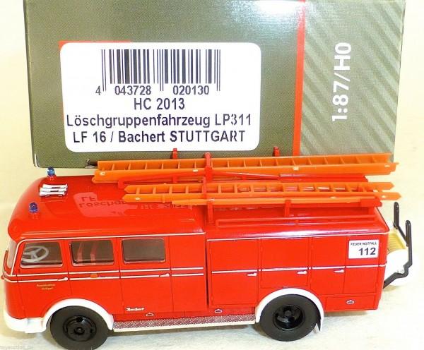 Löschgruppenfahrzeug LP311 LF16 Bachert STUTTGART HEICO HC2013 OVP NEU µ
