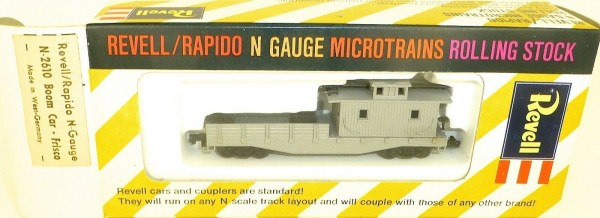 Boom Car Frisco grau Revell rapido microtrains N-2610 OVP west germany HT5 å *