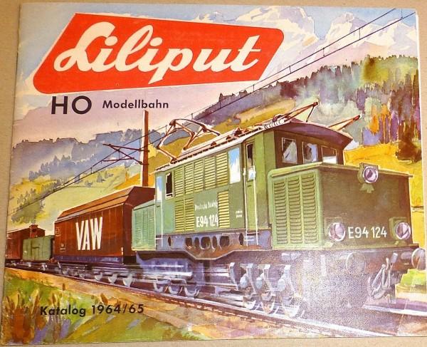 LILIPUT Katalog 1964/65 H0 å *