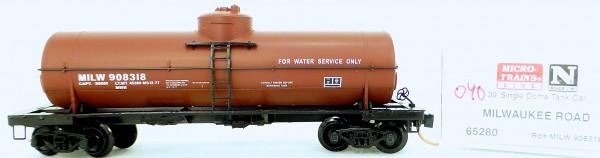 Micro Trains Line 65280 MILW 908318 39' Single Dome Tank Car 1:160 OVP #i040 å