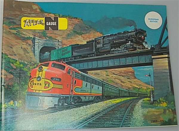 ATLAS Spur N Katalog 1968-69 å