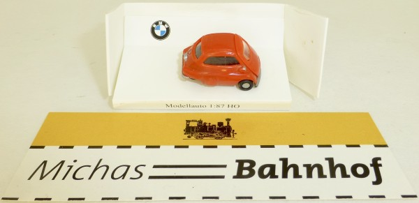 BMW Isetta rot IMU EUROMODELL H0 1/87 OVP # GB5 å