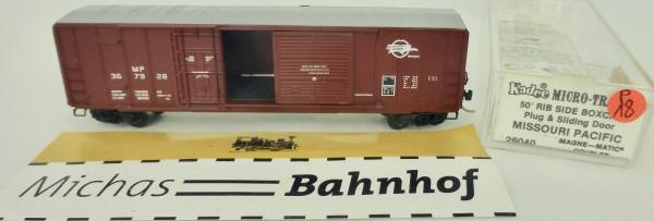 Missouri Pacific 50' Rib Side Boxcar 367928 Micro Trains Line 26040 1:160 P18 å