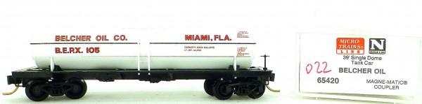 Micro Trains Line 65420 Belcher Oil 105 39' Single Dome Tank Car 1:160 OVP #i022 å