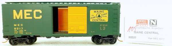 Micro Trains Line 20220 Maine Central 8217 40' St. Boxcar 1:160 OVP #H105 å