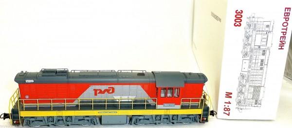 YM33 1652 Diesellok RZD CCCP H0 1:87 Eurotrain Moskau OVP 3003 NEU GD1 µ *