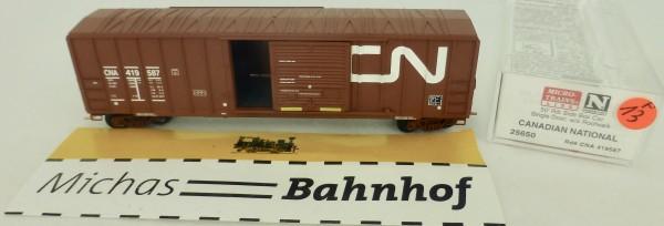Canadian National 50' Rib Side Boxcar 419587 Micro Trains Line 25650 1:160 P13 å