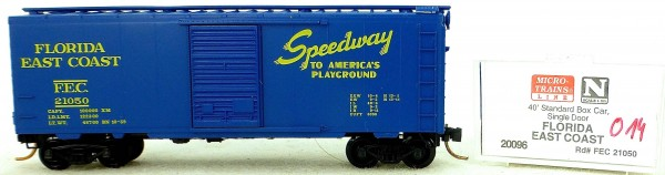 Micro Trains Line 20096 FEC 21056 40' Standard Boxcar 1:160 OVP #H014 å
