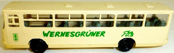 BVG WERNESGRÜNER PILS Ikarus Bus TT 1:120 # HN 5 å