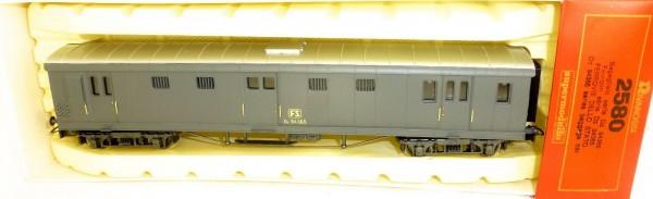 FS Type Dz 94 365 Gepäckwagen grau Rivarossi 2580 H0 1:87 OVP KB2 å *