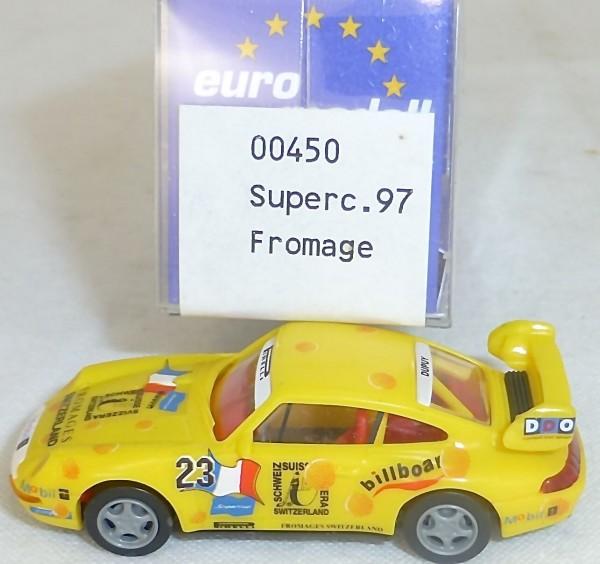 Porsche 911 993 Fromage IMU EUROMODELL 00450 H0 1:87 OVP #HO 2 å