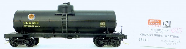 Micro Trains Line 65410 CGW 283 39' Single Dome Tank Car 1:160 OVP #i023 å