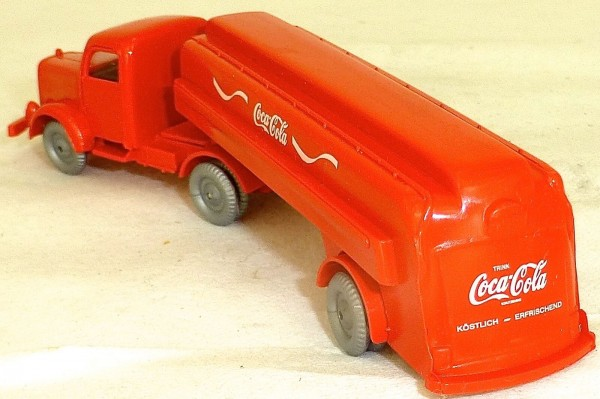 Tanksattelzug Mercedes 5000 Coca Cola rot IMU H0 1:87 å √