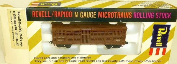 Stock Car St LIM&S 2588 Güterwagen Revell rapido microtrains N-2588 OVP HT5 å *