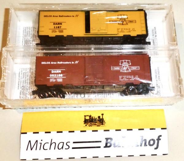 Micro Trains Line 89-21 Darn Trak Delco RR 2-tlg Special Run N 1:160 +28 å