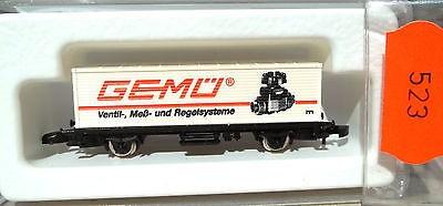GEMÜ, Containerwagen Kolls 90723 Märklin 8615 Z 1/220 *523*