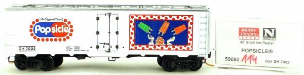 Micro Trains Line 59080 POPSICLE GH7002 40' Steel Ice Reefer 1:160 OVP #i114 å