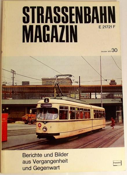 Straßenbahn Magazin Heft 30 November 1978,S.241-324 Franckh'sche Verlagshandlung