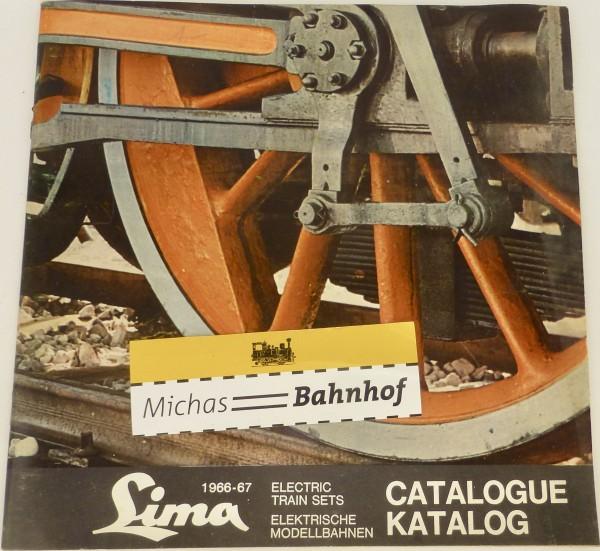 LIMA Katalog 1966-67 H0 å