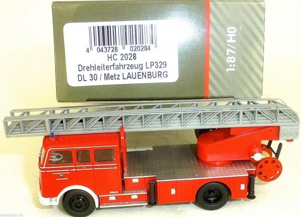 Drehleiterfahrzeug LP329 DL30 Metz LAUENBURG HEICO HC2028 OVP NEU µ