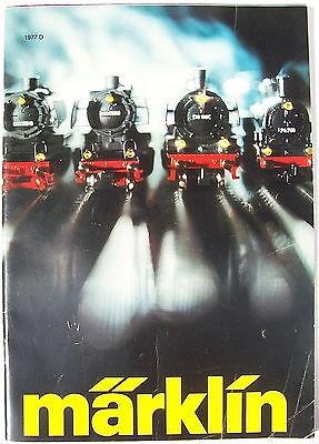 MÄRKLIN Katalog 1977 D # å