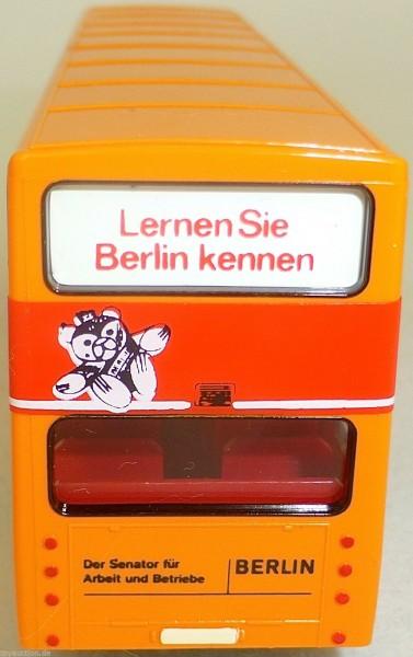 Berlin eine Stadt stellt sich vor MAN SD 200 GESUPERT WIKING Bus H0 1:87 GD4å