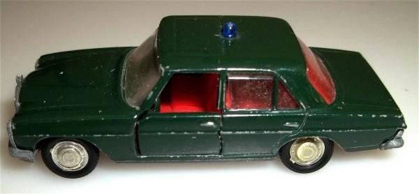 Schuco 805 MB Mercedes Benz 200 Polizei 1/66 OVP #LI2# å